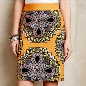 NWOT Anthropologie Maeve Clementina Pencil Skirt
